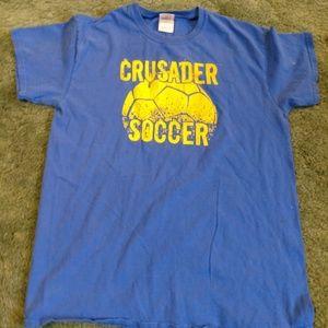 Crusader soccer t shirt
